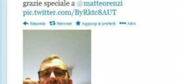 Stop con un tweet per Roberto Giacchetti.