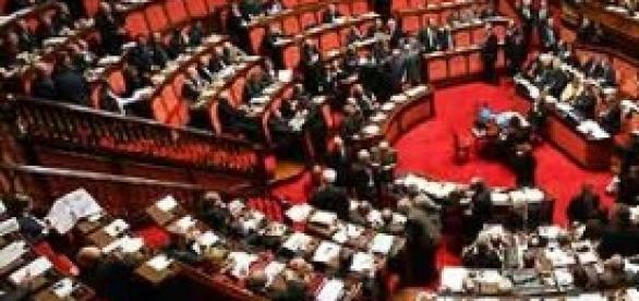 Immagine del parlamento italiano