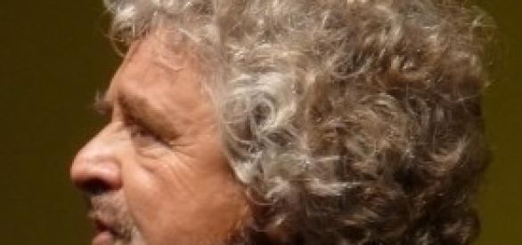 Beppe Grillo, leader del M5s