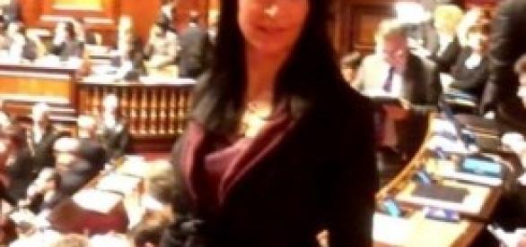 Nadia Ginetti, senatrice del Pd