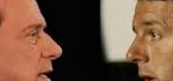 Renzi – Berlusconi, l'incontro nella sede del Pd