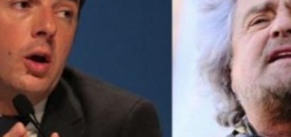 Renzi e Grillo: scenari politici del 2014