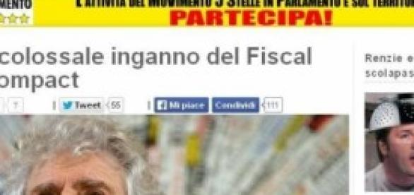 Il blog di Beppe Grillo beppegrillo.it