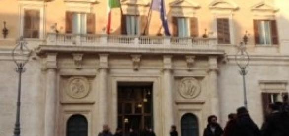 Palazzo Montecitorio Camera dei Deputati