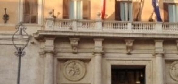 Piazza Montecitorio a Roma