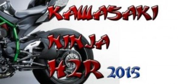 kawasaky ninja h2r, 2015,foto procesada no publica