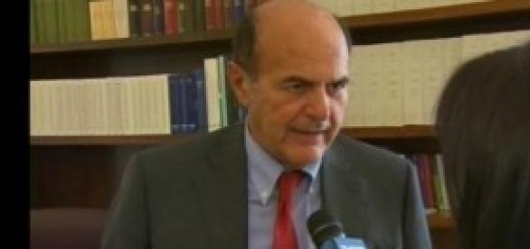 Pierluigi Bersani intervista al Tg3 Rai
