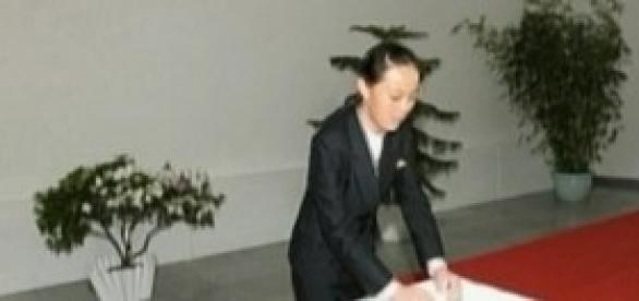 La sœur de Kim Jong-un