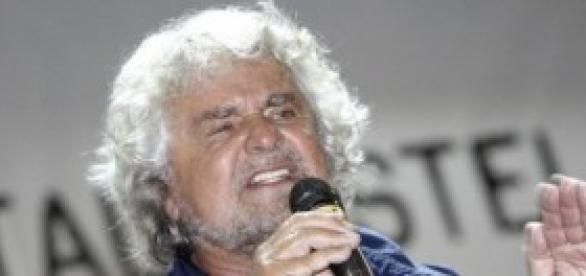 Beppe Grillo leader di M5S