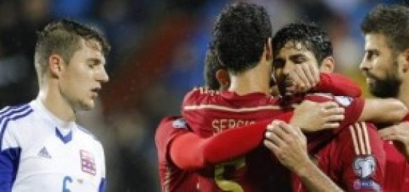 Costa celebrando su gol. Foto: nacion.com