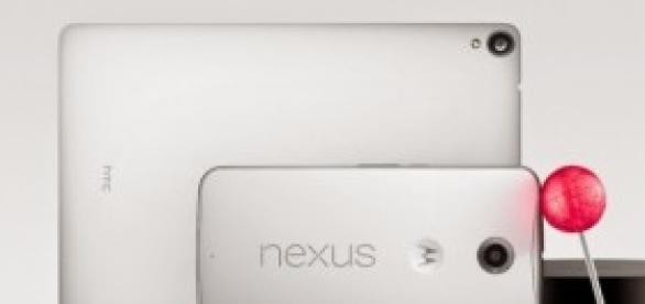Nova familia Nexus do Google
