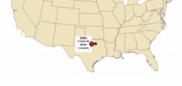 Nuevo caso de ébola en Estados Unidos, en Dallas.