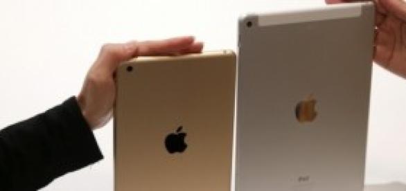 IPad mini 3 y Air 2 comparativa tamaños
