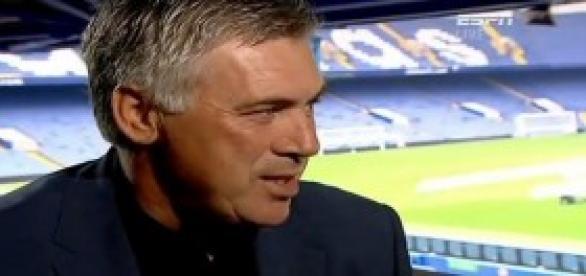 Carlo Ancelotti, entrenador del Real Madrid.