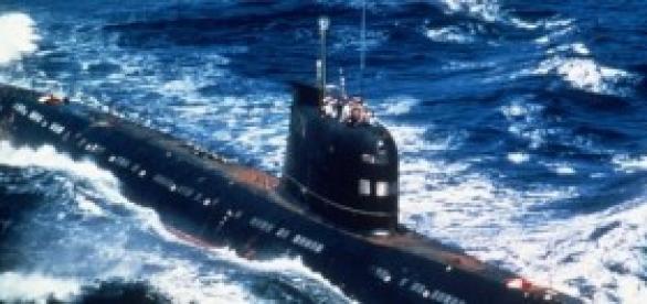 Un submarina. Un arma poderoso