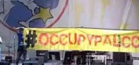 i 4 espulsi durante la protesta al Circo Massimo