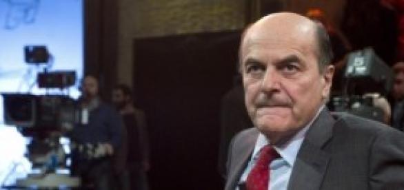 Pier Luigi Bersani negli studi di Ballarò
