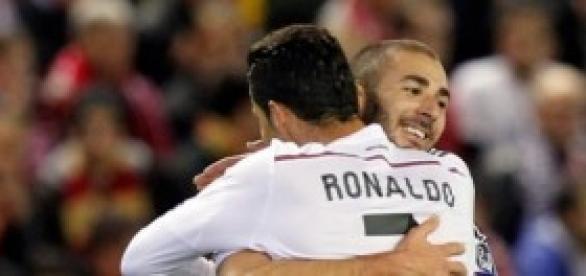 CR7 y Benzema, protagonistas. Foto: Real Madrid