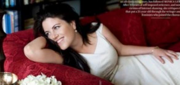 Monica Lewinsky vuleve a ser noticia
