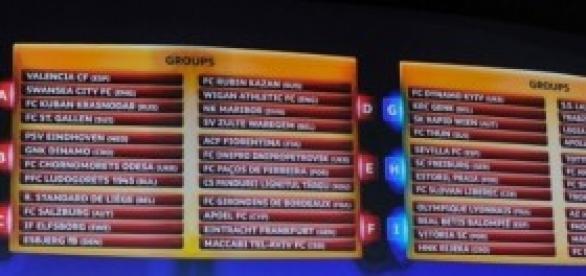Cifras de partidos de la UEFA Europa League