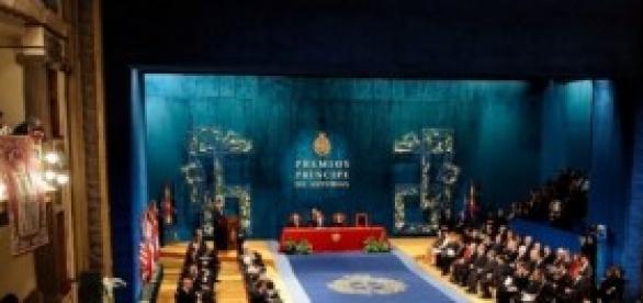 Entra de los Premios Príncipe de Asturias