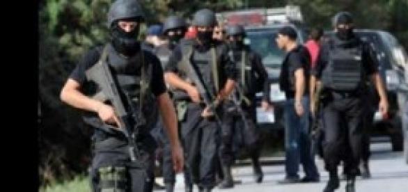 Les forces spéciales de sécurité à Oued Ellil