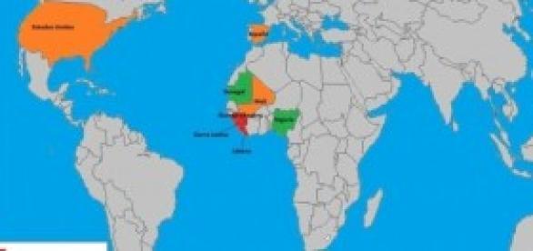 El ébola se sigue expandiendo por el mundo.