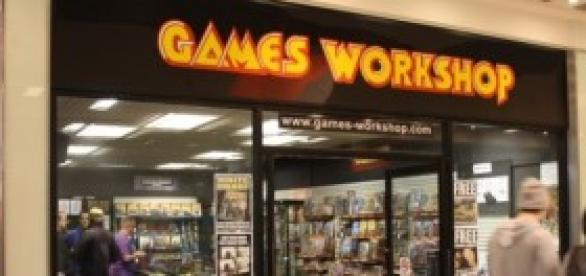 Una tienda de Games Workshop.