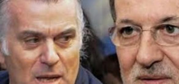 José Luis Bárcenas y Mariano Rajoy