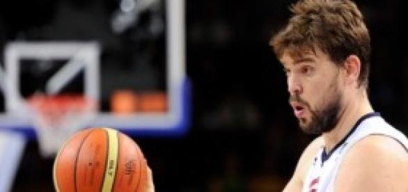 Marc Gasol, pívot de los Grizzlies.