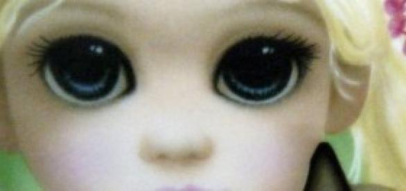 Um dos quadros Olhos Grandes