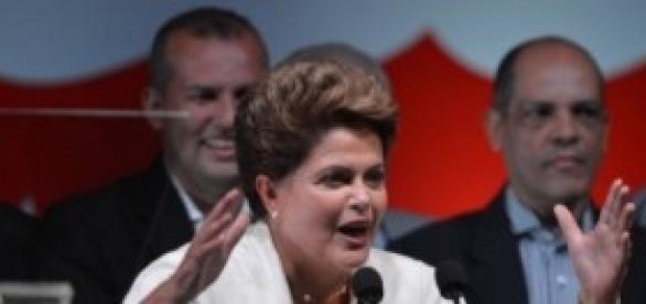 Vitória de Dilma Roussef nas Eleições.