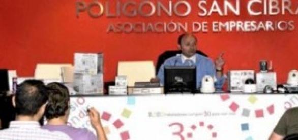 Antonio Tornero  durante una ponencia a  telecos