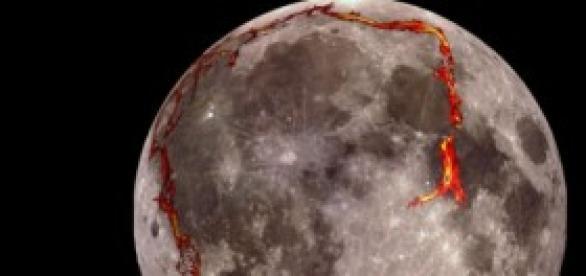 Estructura rectangular allada en la Luna