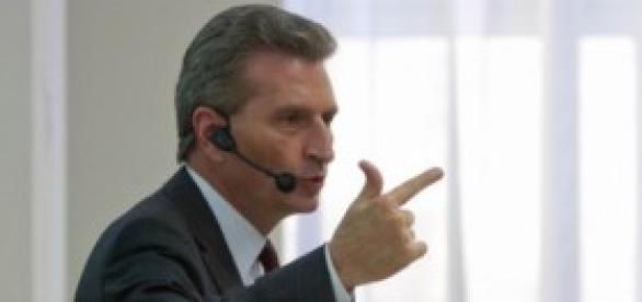 Günter Oettinger comisario de tecnología de Europa