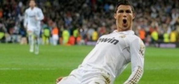 Cristiano Ronaldo goleador del Madrid.