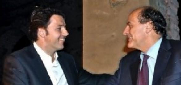 Pierluigi Bersani e Matteo Renzi