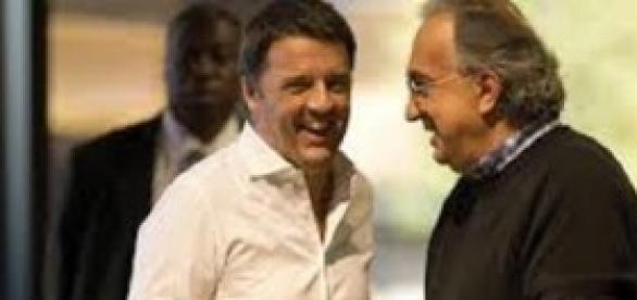 Solo Marchionne appoggia Renzi sul TFR in busta