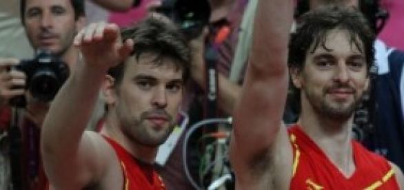 Los Gasol, dos de las estrellas de la NBA.