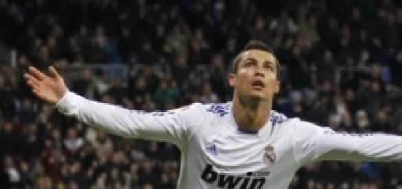 Cristiano con el Real Madrid