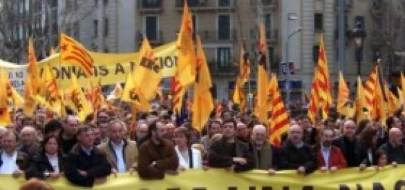 Ganó el sí a la independencia de Cataluña.