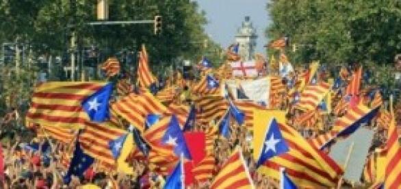 Los catalanes reclaman estado propio