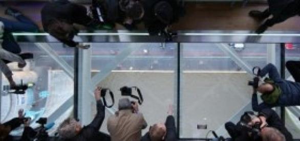 Chão de vidro na Torre de Londres-1