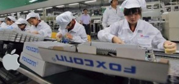 Foxconn fabrica los iPhone de Apple
