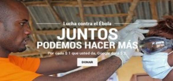Google Lucha contra el Ébola, juntos podemos más