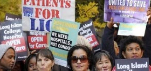 infirmières en grève aux états unis