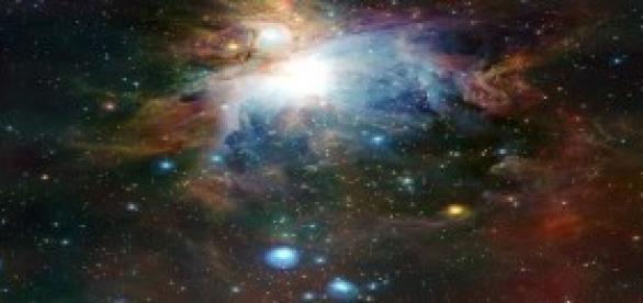 Galáxias como num microscópio.