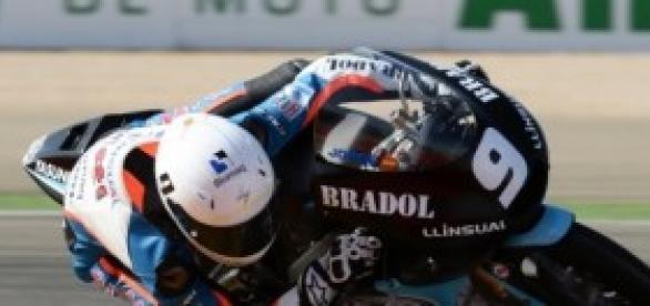 Jorge Navarro, Piloto de Moto3