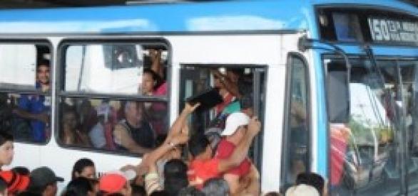Problemas no transporte público de Belém