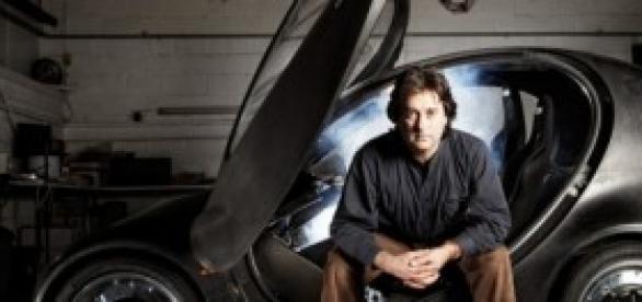 Hugo Spowers e o carro Riversimple